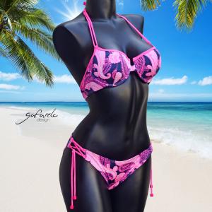 Bikini Copas Performado Caschemir braga cruce