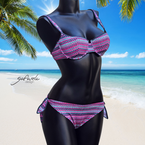 Bikini Copas Pinza Macramé braga lazo