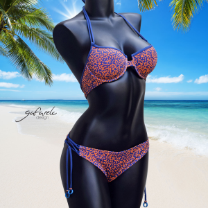Bikini Copas Performado Puntillismo braga cruce