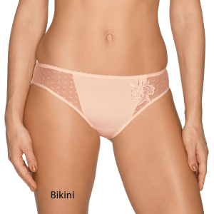 Bragas Divine Rosa: Bikini, Alta